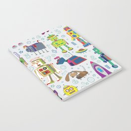 Robots in Space Notebook