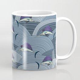 Swordfish Espadon | Pattern Art Coffee Mug