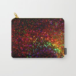 Fascination in gold-photograph of colorful lights Carry-All Pouch
