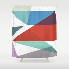 Shapes 015 Shower Curtain