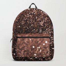 Rose Gold Glitter #1 #sparkling #decor #art #society6 Backpack