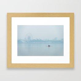 La Neblina (Color) Framed Art Print