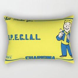 Charisma S.P.E.C.I.A.L. Fallout 4 Rectangular Pillow