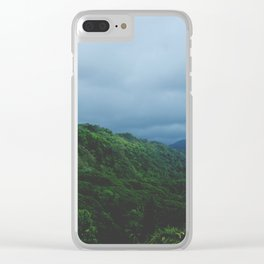 Maui Green Clear iPhone Case