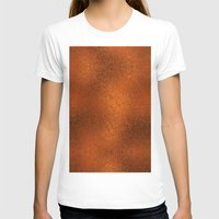 gold foil T-shirts featuring Gold Foil Texture 4 by Robin Curtiss