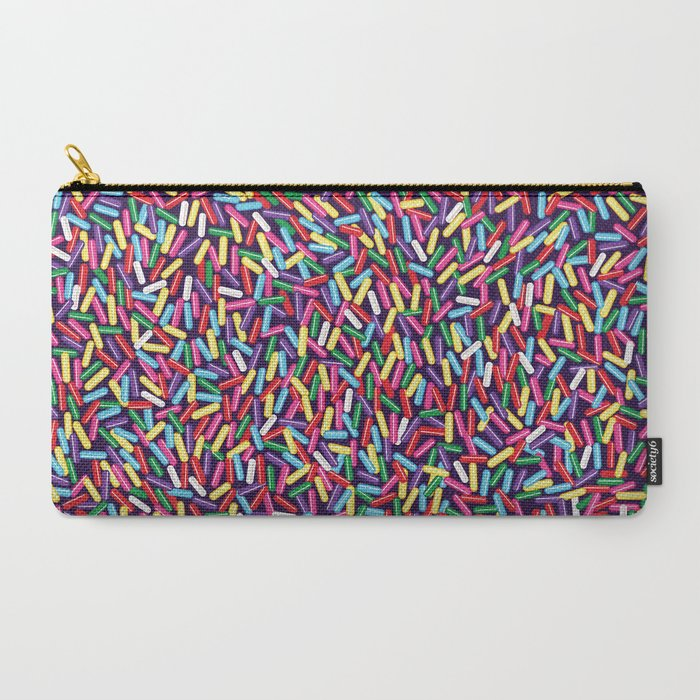 Encrusted With Sprinkles Carry-All Pouch