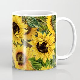 Vintage & Shabby Chic - Noon Sunflowers Garden Coffee Mug