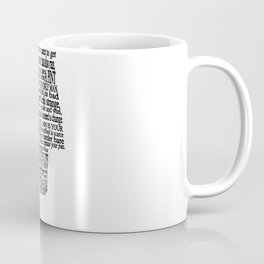 A Pint of Plain Coffee Mug