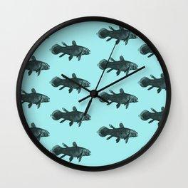 Flock of Fish Wall Clock