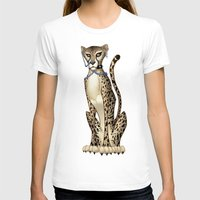 goth T-shirts featuring Goth Cheetah by Sinccolor