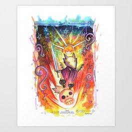 Year of the Dog: Saint Lycan Art Print