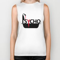 psycho Biker Tanks featuring Psycho by Oh! My darlink