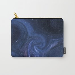Space Waves Carry-All Pouch