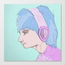"""Static Beat""  Canvas Print"