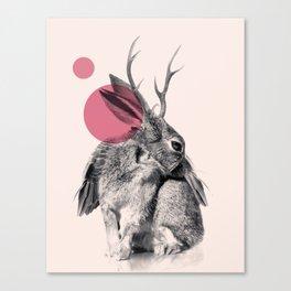 wild heart Canvas Print