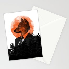 The real Wolf of Wall Street Stationery Cards