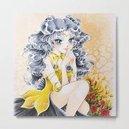 Luna, when a dream come true, by Suki Manga Art Metal Print
