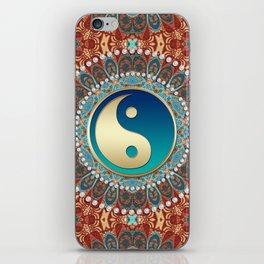 Bohemian Batik Yin Yang iPhone Skin