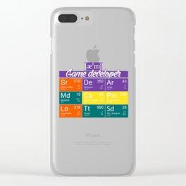 ae'm Game developer Clear iPhone Case