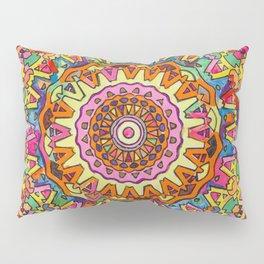 Third Eye Mandala Pillow Sham