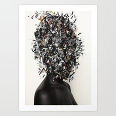 Primitivism / Abundance Art Print