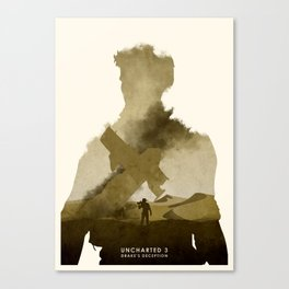 Uncharted 3 Canvas Print
