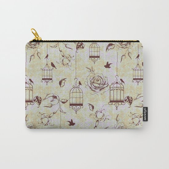 Roses & cages Carry-All Pouch