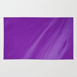 Blurred Violet Wave Trajectory Rug