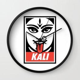Obey Kali Wall Clock