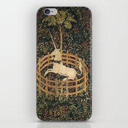 The Unicorn In Captivity iPhone Skin