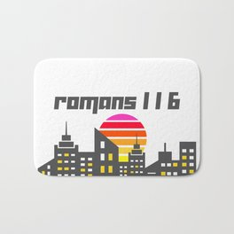 Romans 1:16 Bath Mat