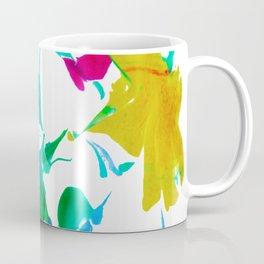 Colorful spider webs Coffee Mug