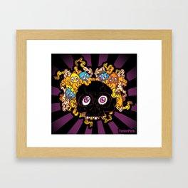 Blackskull Framed Art Print