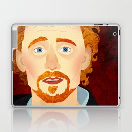 Portrait: Tom Hiddleston Laptop & iPad Skin