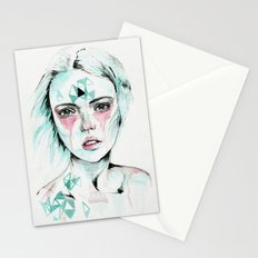 Woman v. Stationery Cards
