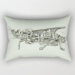The Grasshopper Rectangular Pillow