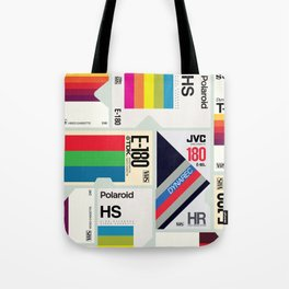 Retro VHS Tote Bag