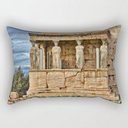 Parthenon Acropolis Athens Greece Rectangular Pillow