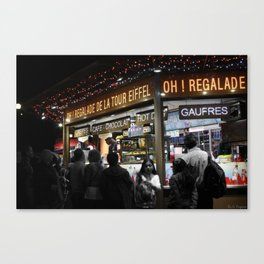 Oh Regalade! Canvas Print