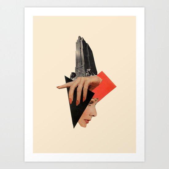 Public Image Art Print