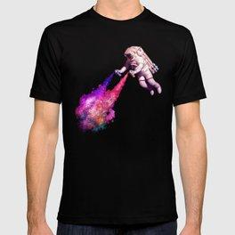 """""""Shooting Stars"""" - Astronaut Artist T-shirt"""