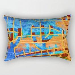 Stunning Saguaros Rectangular Pillow