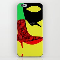 shoes iPhone & iPod Skins featuring Shoes by BUBUBABA