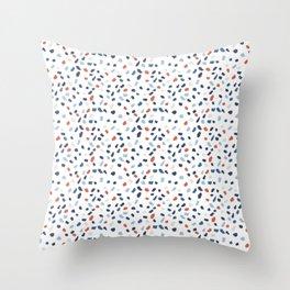 Nautical Spots Throw Pillow