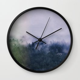 Forest Cump At Autumn Wall Clock
