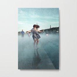 Danse de la pluie IV Metal Print