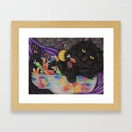 halloween hangover Framed Art Print