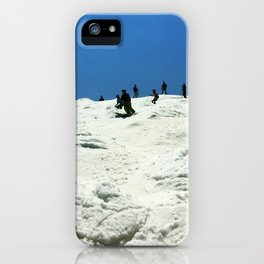 Spring Skiing on Superstar iPhone Case