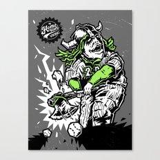 The Homerun viking  Canvas Print