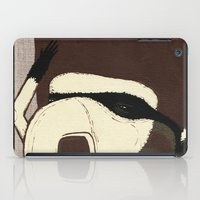racoon iPad Cases featuring Raino Racoon by René Barth